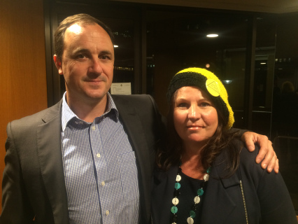 Greens MPs Jeremy Buckingham and Tamara Smith
